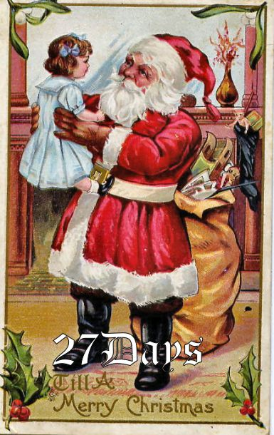 27 Days Until Christmas And Today We
